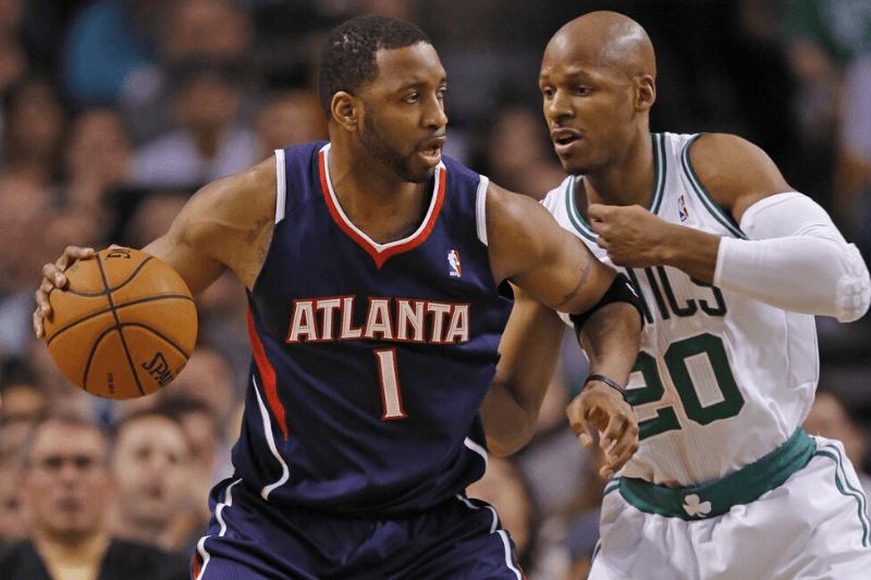 NBA Legends in Unfamiliar Jerseys