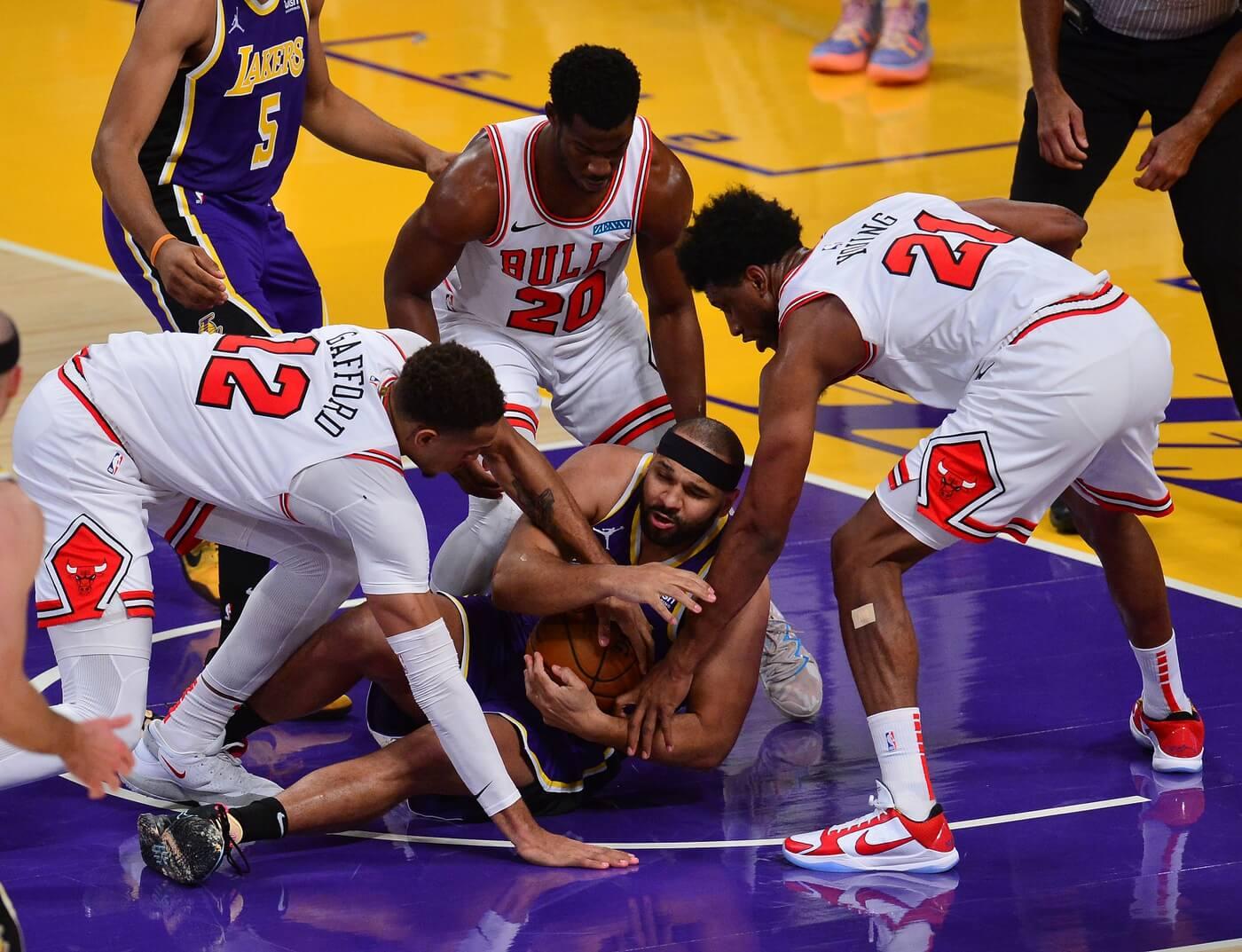 Lakers Veteran Forward Jared Dudley Suffers MCL Tear