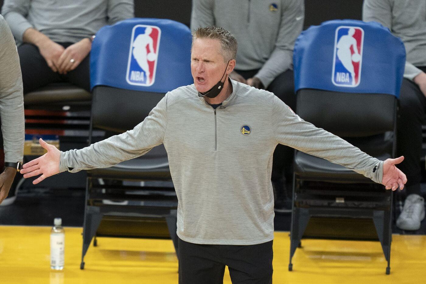 Steve Kerr Reacts to Historic Loss to the Mavericks