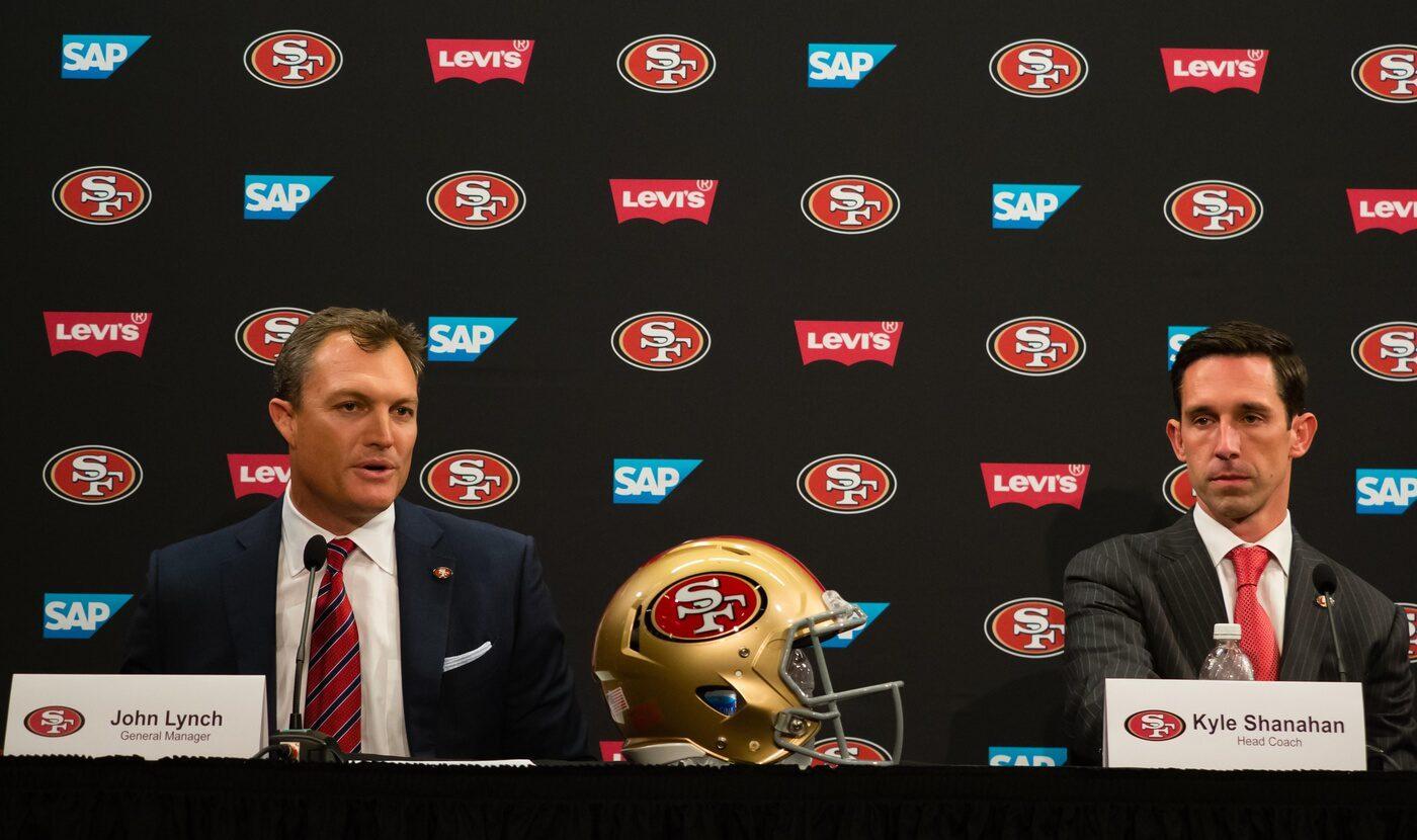 Kyle Shanahan and John Lynch React To Draft Rumors at Pre-Draft Press Conference