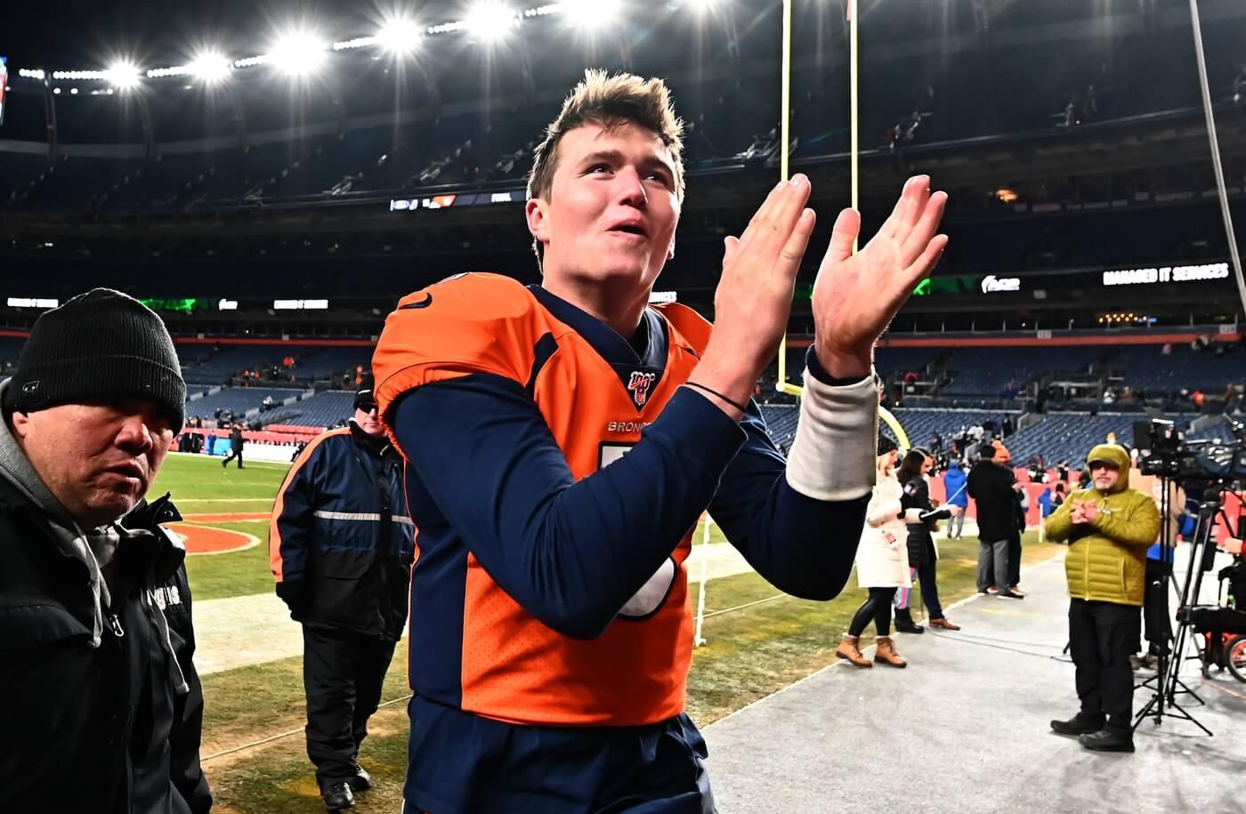 Why The Broncos Need to Abandon Drew Lock