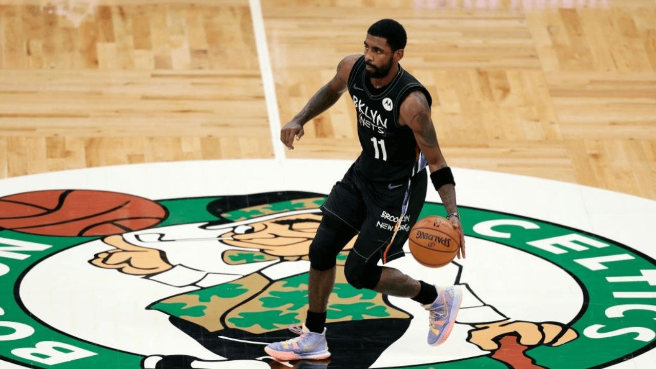 Kyrie Irving stomping on the Celtics logo seen as 'red flag' inside Celtics organization