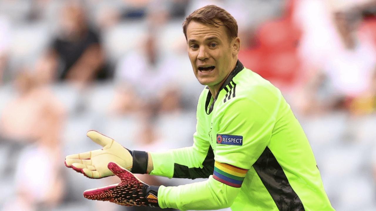 UEFA investigating Manuel Neuer's rainbow captain armband