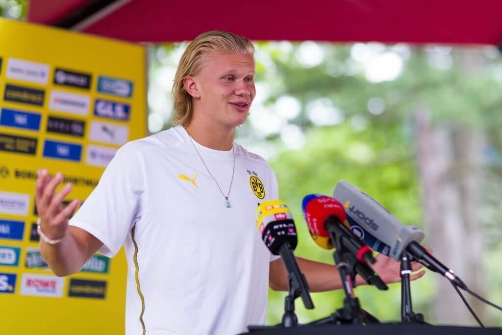 Erling Haaland speaks on €175 million transfer to Chelsea