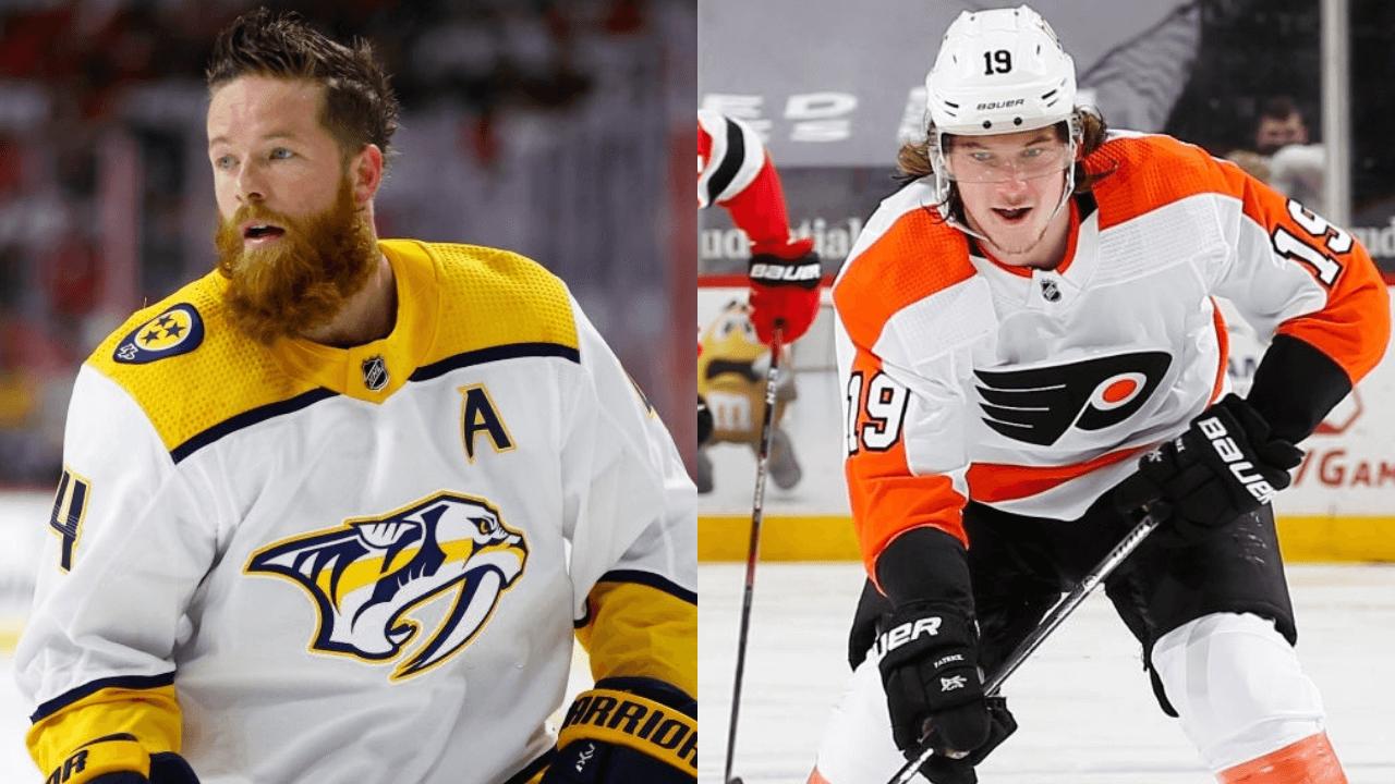 Golden Knights, Flyers, Predators pull off blockbuster 3-team trade